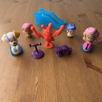 Bubble Guppies Lot Nick Jr Nickelodeon Parts Rock Roll & Go Puppy Lobster Figure