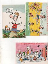 France 8 French seaside cartoon humour sports children