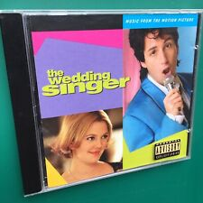 WEDDING SINGER Film Soundtrack CD David Bowie Smiths Adam Sandler Drew Barrymore