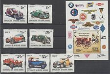 CLASSIC CARS MNH - REP. de GUINÉ BISSAU 1984 - SET / MINI SHEET  H532