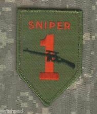 Kandahar Whacker 3rd Ifd Death Sniper Oif Oef Theater Made Olive-drab Insignia Buttons Pins & Anstecknadeln