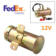12V Universal 4-5.5Psi Low Pressure Electric Fuel Pump 136 Litres Per Hour -USA