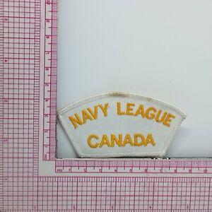 VTG Navy League Canada Patch Applique b2