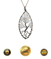 Opal Tree Of Life Necklace Pendant Jewelry Christmas Xmas Gift Gifts For Women