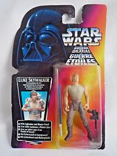 STAR WARS THE POWER OF THE FORCE LUKE SKYWALKER IN DAGOBAH OUTFIT LIGHTSABER GUN