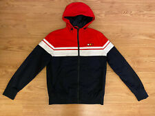 New listing FSBN Windbreaker Jacket Red White Navy Packable & Stylish Size XS Never Worn