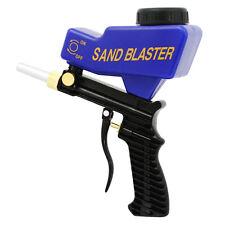LEMATEC Pro Metal Portable Sandblaster Gun Gravity Feed Sand blasting air tools