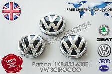 VW SCIROCCO REAR TAILGATE HANDLE  BADGE  EMBLEM GENUINE 1K8853630E