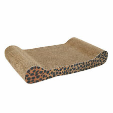 New listing Corrugated Cardboard Cat Toy Scratcher Bed Pad Corrugated Board with Catnip
