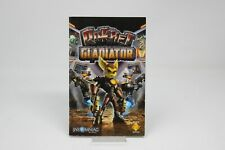 Ratchet Gladiator Solo Manual sony PS2 Play Station Ps 2