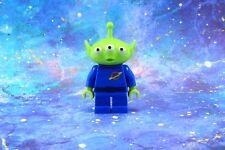 Lego Mini Figure Toy Story Green Alien from set 7591