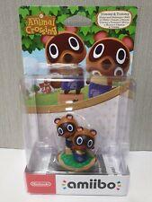 Nintendo Amiibo Animal Crossing Timmy & Tommy New / Sealed