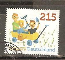 BRD 3158 Erster Kindergarten in Deutschland gestempelt