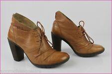 Boots P-L-D-M by PALLADIUM  Cuir Fauve T 36 TBE