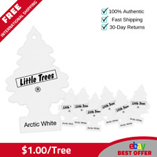 72 Little Trees Hanging Air Freshener Arctic White Magic Tree Scent - $1.00/tree