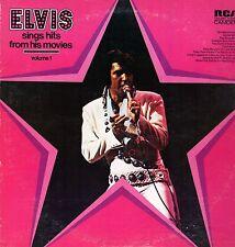 Elvis Presley LP Camden/RCA, 1972, CAS-2567, Sings Hits from His Movies, Vol. 1