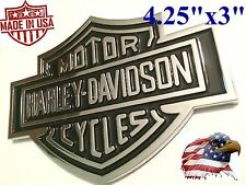 Harley Davidson Adhesive Backed Emblem Medallion Fuel Gas Tank Truck F150 F250