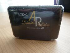 TDK AR 90 Limited Edition audiokassette cassette audio tape sealed