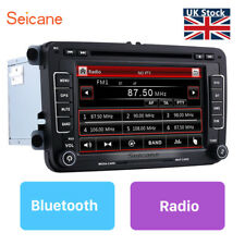 "7"" Car Stereo Radio DVD Sat Nav GPS Bluetooth For VW Golf MK5 MK6 Jetta Passat"