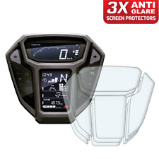3 x Honda Africa Twin CRF1000L 2015-2017 Dashboard Screen Protector: Anti-Glare