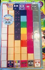 2020 Numberblocks Cbeebies magazine 16-20 Numberblocks And Build 6-10🤗 Early Yr