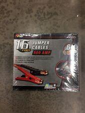Performance Tools W1672 16 Foot Jumper Cables 500amp  Max Capacity  6 Gauge