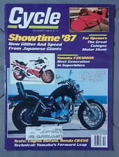 1986 DECEMBER CYCLE MAGAZINE SUZUKI 1400 YAMAHA FZR1000R EGLI MOTORCYCLE