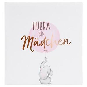 Fotoalbum Goldbuch Baby Hurra- ein Mädchen 30x31 60 weißen Seiten 15205
