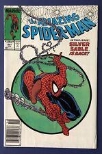 "Amazing Spider-Man #301 (Marvel 1988) Todd McFarlane ""Silver Sable� Newsstand"