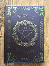 Ivy Book of Shadows ~ Embossed Journal with Pentagram ~ Spells ~ Wicca ~ Pagan