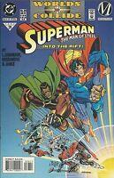 Superman Man Of Steel Comic 36 Cover A First Print 1994 Louise Simonson Janke DC