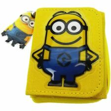 Official Children's Unisex Minions Wallet with Zipped Coin Pocket