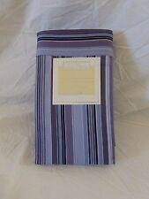 2 pc High Country Linens Print Stripe 330 TC King Pillowcases (1 Pair) NIP