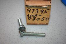 nos Yamaha snowmobile vintage bolts srx gpx ex et gp sl sr 2 pcs.crankcase