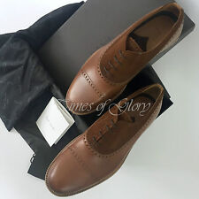 NEW Paul Smith Men Brown Suede Leather Formal Dress Brogue Shoes Size 42 UK8 US9
