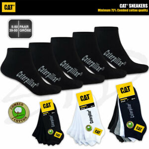 CAT® CATERPILLAR SNEAKERS SNEAKER SOCKEN ArbeitsSneaker Füßlinge Strümpfe 39-50