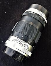 ASAHI TAKUMAR f/3.5 135MM LATE MODEL I ZEBRA TELEPHOTO LENS M42 PENTAX