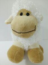Best Made Toys Lamb Sheep Plush Stuffed Animal Baby Toy White Tan Chubby Smile