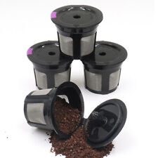 Stainless Steel Refillable Coffee Pods Capsule Reusable Filter For Keurig K-Cups