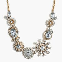 J. Crew Crystal Burst Necklace Style AD894 Color EC8333 (NEW)