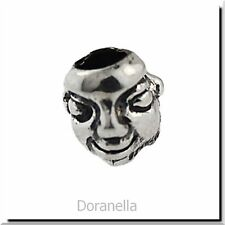 Authentic Trollbeads Sterling Silver 11120 Masks :0 RETIRED