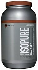Lactose Free Isopure Low Carb Whey Protein Powder Complete Healthy Benefits 3lbs
