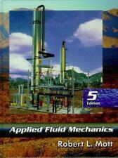 Applied Fluid Mechanics, by Mott, 5th Edition
