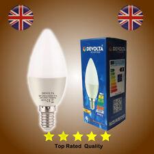 Small Edison Screw E14 5W LED Candle Bulb Spotlight SES Lamp Warm White Light