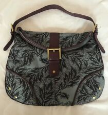 Ted Baker Hand Bag Fabric Leaf Pattern