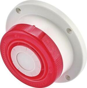 Basetech   Alarm-Sirene    mit Blitzleuchte 112 dB Signal Außenbereich