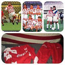 Umbro Rayos De Necaxa Mexico Liga MX Rare 90's Team Issued Training Sweats L/XL