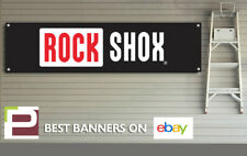 Rock Shox Banner for Workshop, Garage, PVC with eyelets