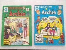 Sélection Archie # 268, 272 Éditions Héritage