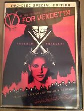 V For Vendetta DVD: 2 Disc Special Edition